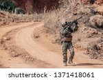 soldiers of special forces on...   Shutterstock . vector #1371418061
