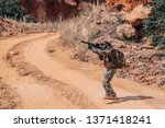 soldiers of special forces on...   Shutterstock . vector #1371418241