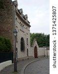 montmart street corner  ...   Shutterstock . vector #1371425807