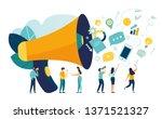 vector illustration  flat style ... | Shutterstock .eps vector #1371521327
