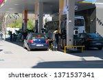 opet turkey's leading benzene...   Shutterstock . vector #1371537341