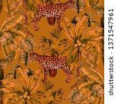 watercolor seamless pattern...   Shutterstock . vector #1371547961