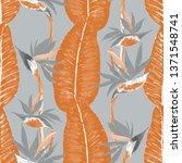 watercolor seamless pattern... | Shutterstock . vector #1371548741