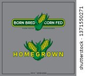 Homegrown   Corn Logo ...