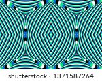 color seamless pattern with... | Shutterstock .eps vector #1371587264