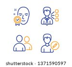 third party  face verified and... | Shutterstock .eps vector #1371590597