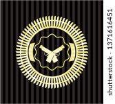 crossed pistols icon inside... | Shutterstock .eps vector #1371616451
