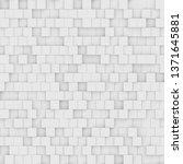 modern abstract geometric... | Shutterstock . vector #1371645881