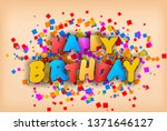 happy birthday   greeting card  ...