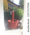 garden well with self made  | Shutterstock . vector #1371717554