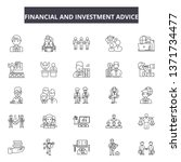 financial and investment advice ... | Shutterstock .eps vector #1371734477