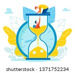 assistance in fulfilling... | Shutterstock .eps vector #1371752234