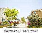 residential area | Shutterstock . vector #137179637