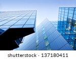 modern buildings  skyscrapers.... | Shutterstock . vector #137180411