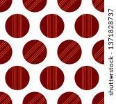 cricket ball icon seamless... | Shutterstock .eps vector #1371828737