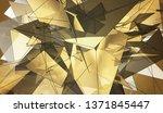 beautiful gold illustration...   Shutterstock . vector #1371845447