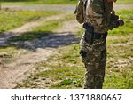 armed soldier get ready for...   Shutterstock . vector #1371880667