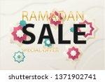 ramadan kareem background place ...   Shutterstock .eps vector #1371902741