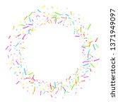 sprinkles grainy. cupcake... | Shutterstock .eps vector #1371949097