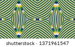 color seamless pattern with... | Shutterstock .eps vector #1371961547