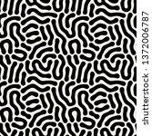 vector seamless pattern. modern ... | Shutterstock .eps vector #1372006787