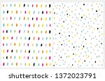 simple abstract geometric... | Shutterstock .eps vector #1372023791