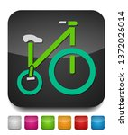 vector bicycle illustration  ... | Shutterstock .eps vector #1372026014