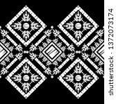 ethnic boho seamless pattern.... | Shutterstock .eps vector #1372073174