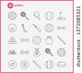 sports line icon for web  print ...