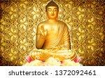 Golden Buddha Wallpaper