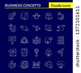 business concepts hand drawn...