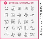 business administration hand... | Shutterstock .eps vector #1372104557