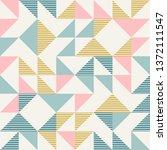 abstract geometric diamond... | Shutterstock .eps vector #1372111547