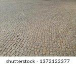 cobbled pavement full frame...   Shutterstock . vector #1372122377
