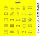 house line icon for web  print...