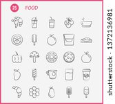 food hand drawn icon for web ... | Shutterstock .eps vector #1372136981