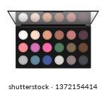 professional make up eyeshadow... | Shutterstock .eps vector #1372154414