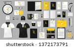 corporate identity template... | Shutterstock .eps vector #1372173791