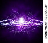 power of light. abstract... | Shutterstock . vector #137220839