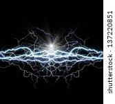 power of light. abstract... | Shutterstock . vector #137220851