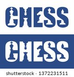text   chess with spaces in the ... | Shutterstock .eps vector #1372231511