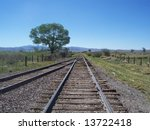 train tracks | Shutterstock . vector #13722418
