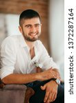beautiful young man    Shutterstock . vector #1372287164