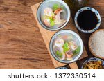 nutritious and delicious... | Shutterstock . vector #1372330514