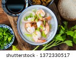 nutritious and delicious... | Shutterstock . vector #1372330517