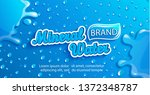 fresh mineral water label ... | Shutterstock .eps vector #1372348787