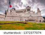 rome  italy   april 3  2019 ... | Shutterstock . vector #1372377074