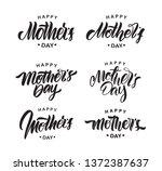 vector illustration  set of... | Shutterstock .eps vector #1372387637