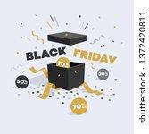 special offer black friday... | Shutterstock .eps vector #1372420811