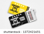 vector cinema tickets isolated... | Shutterstock .eps vector #1372421651